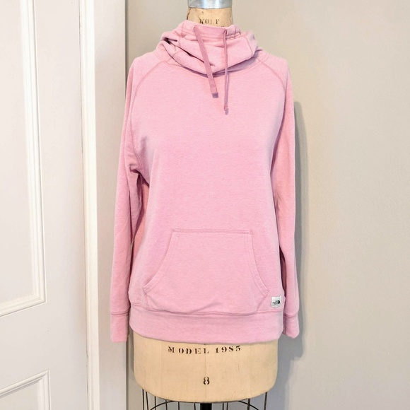 765635972 The North Face Blush Pullover Hoodie Cowl Neck